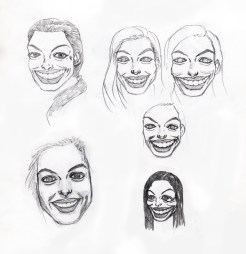 Anne Hathaway Sketch & Caricatures