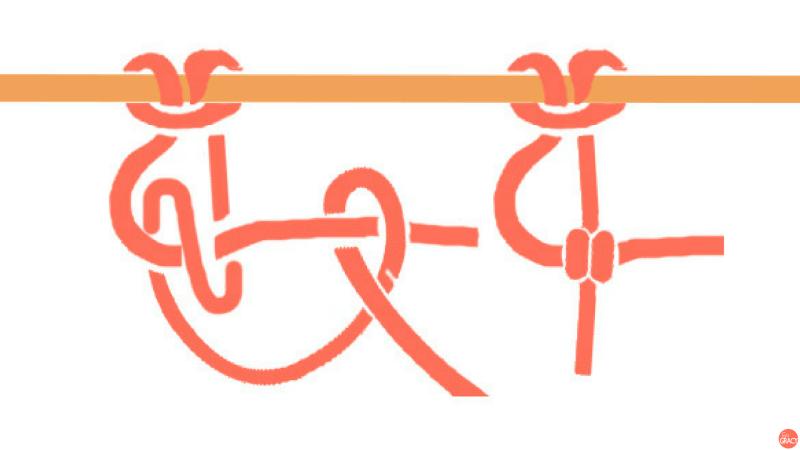 DIY Macramé cordonknoop stap-voor-stap uitleg