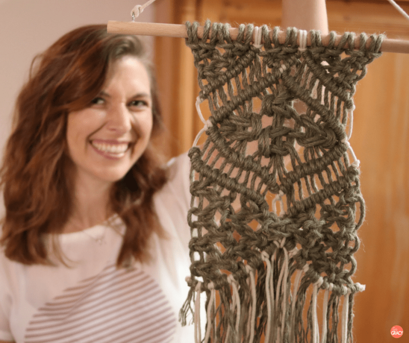 DIY Macramé wandkleed