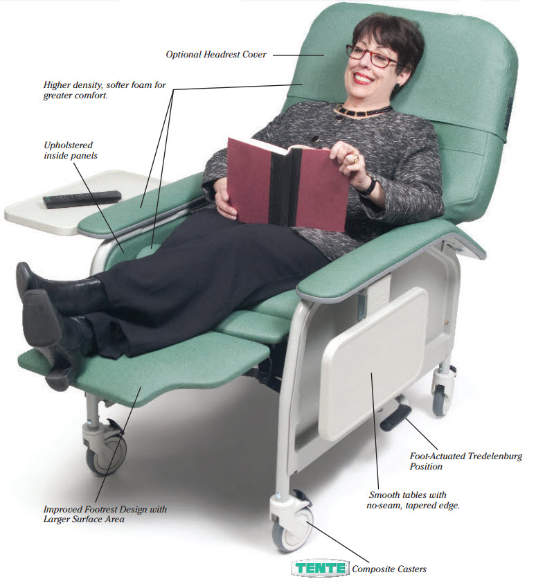 lumex healthcare seating patient experience