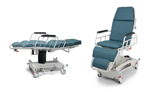 Hausted APC (Powered All-Purpose Chair) in Supine and Fowler Position