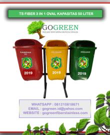 jual-tempat-sampah-fiber-oval-3-in-1-kapasitas-50-liter-tiang-geser-atau-pindah-tong-sampah-pilah-3-warna