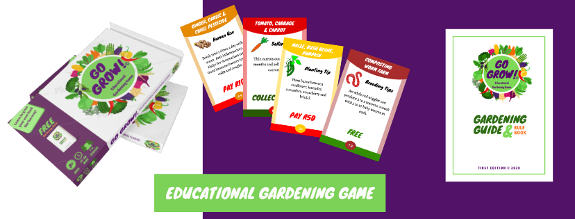 educational gardening game made in SA