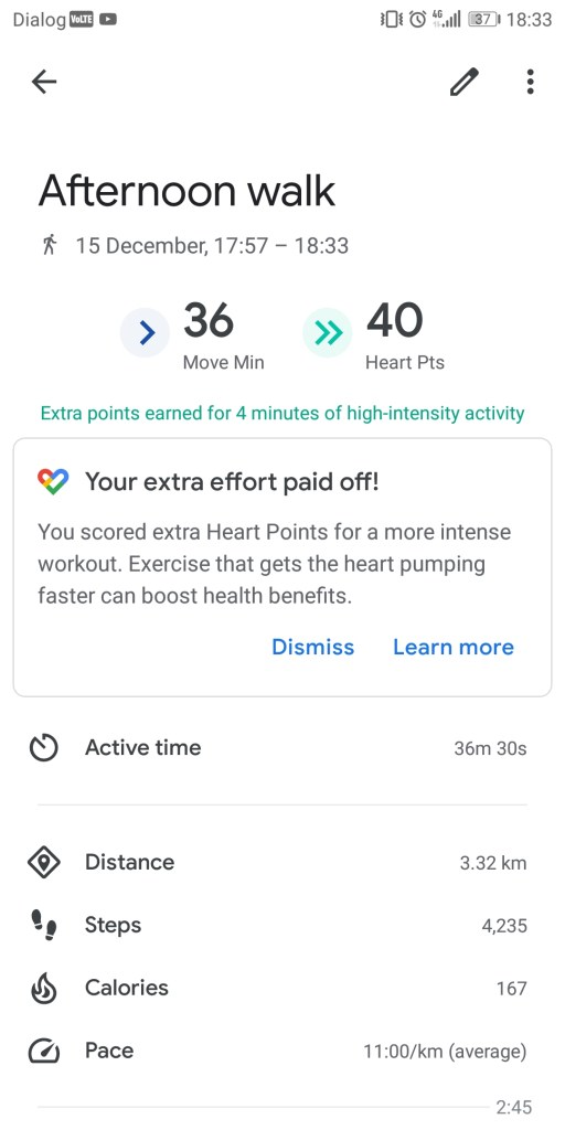 The Google Fit App Keeps Track of Your Daily Activity