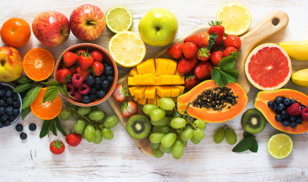Fruits contain lots of antioxidants and anti-inflammatory mediators.