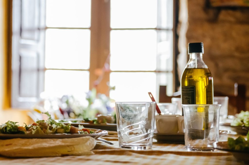 olive oil can be very healthy