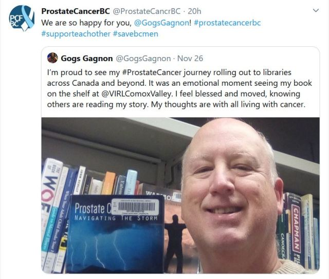 Prostate Cancer Strikes, PC British Columbia, Twitter Review