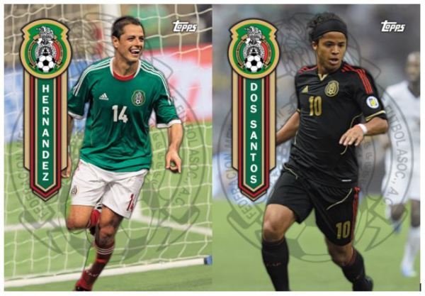 Topps To Feature Mexican National Team Cards in 2014 MLS