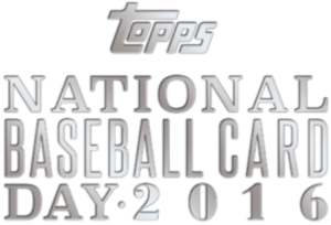 National Baseball Card Day Saturday, August 13th, 2016