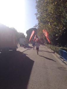 Taken at X Carrera Popular Distrito de Retiro, 26th October. 2014
