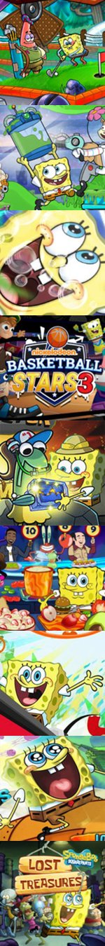 Nickelodeon Infinity Island Game : nickelodeon, infinity, island, Spongebob, Online