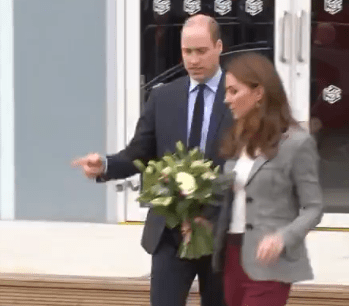 Prince William played a joke on Kate Middleton after the curiosity on the audience