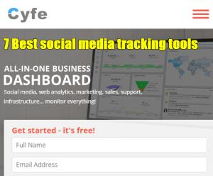 7 Best social media tracking tools -3