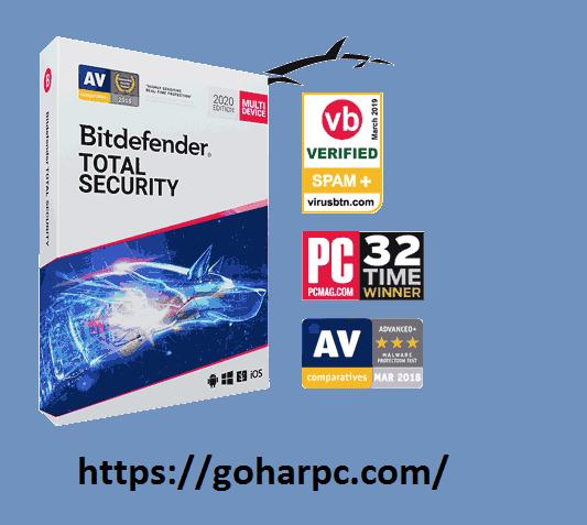 Bitdefender Total Security 2020 Crack + License Key [Lifetime Activation]