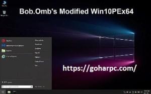 Bob.Omb's Modified Win10PEx64 v4.8 With Crack