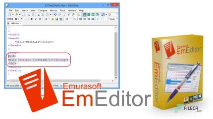 EmEditor Free Download