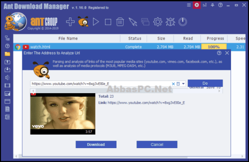 Ant Download Manager Pro 2.3 Full Version with Lifetime License