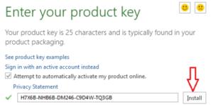 Microsoft Office 2016 Key For Mac/Windows