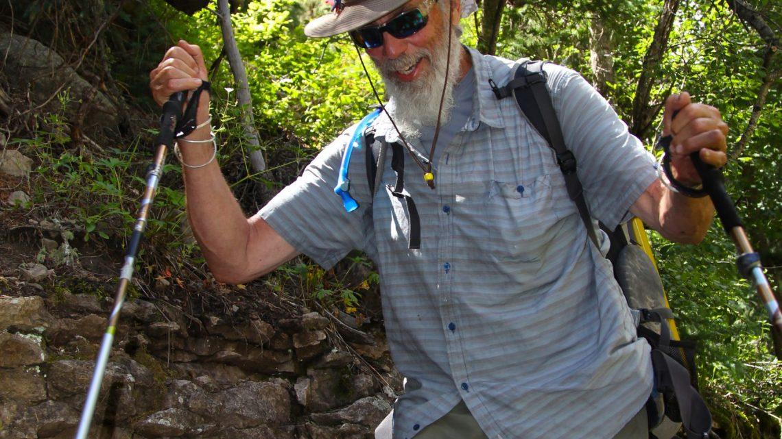 2017 GoHawkeye San Juan Trail fundraiser hike trail journal