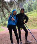 Anika and Taylor Hike for GoHawkeye
