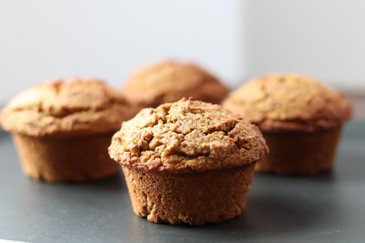 4 Pumpkin muffins