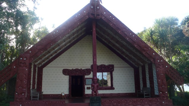 Exterior Maori Meeting House