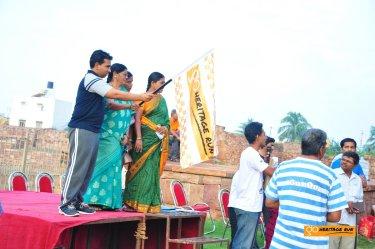 Flag off by Shri. Vikas Suralkar, Assistant Commissioner, Bagalkot