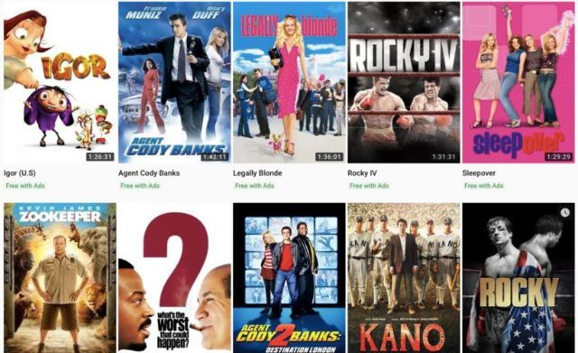 YouTube Now Lets You Watch 'Free With Ads' Hollywood Movies