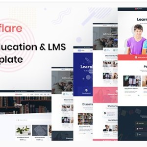 Bookflare – A Modern Education & LMS HTML Template