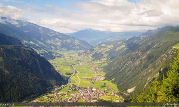Hiking in Austria: Mayrhofen to Ahorn and Back