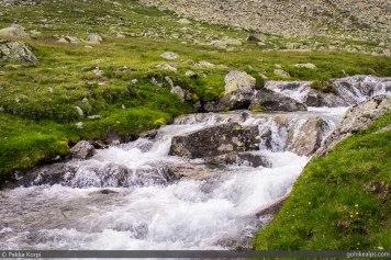 Stream that needed crossing at Zillergrund