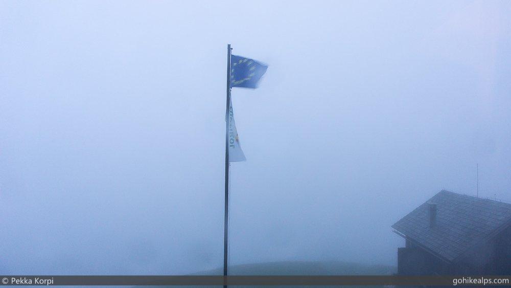 Rain at Rifugio Genova