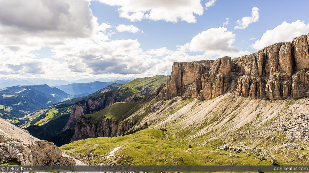 Dolomites Scenery on Alta Via 2
