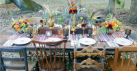 Beautiful Bohemian Table Settings To Feast Upon | Go ...
