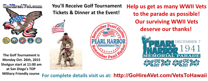 GoHireAVet-Pearl-Harbor-Memorial-Parade-Fundraiser-Golf-Event