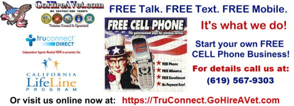 Free Lifeline Smartphones for Homeless Veterans!