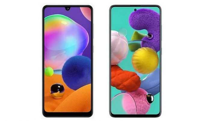 Perbedaan Samsung A31 Dan A51