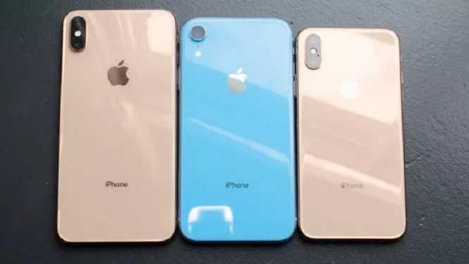iPhone Xr dan Xs