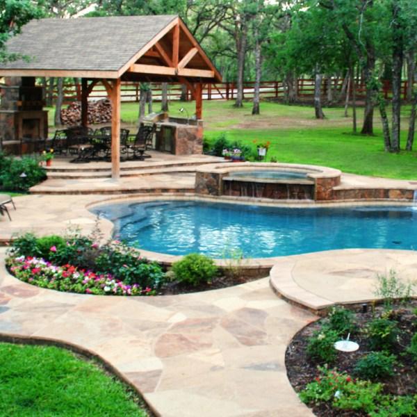 poolside landscaping - gohlke pools