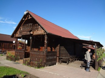 Kolomenskoye village cafe