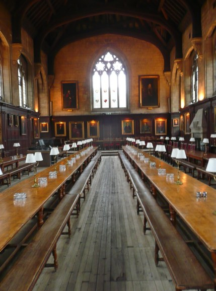 Hogwarts (Oxford), England