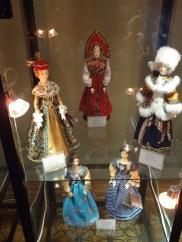 Dolls in traditional Russian costumes, Archangelskoye