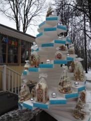 Gingerbread houses at Archangelskoye