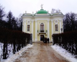 The Hermitage - one of Kuskovo's 'small' entertainment pavilions, now housing a postion of the porcelain & china collection
