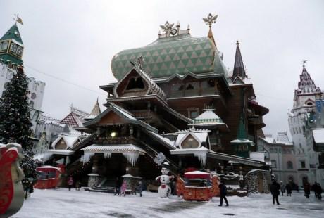 The main palace of Izmailovo Kremlin