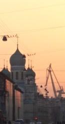 Sunset domes