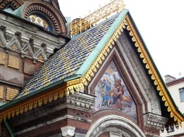 Mosaic detail - Church of the Savior of Spilled Blood