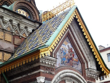 Mosaic detail - Church of the Savior of Spilled Blood