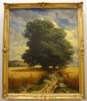 Landscape with Oak Tree by Alexandr Calame. Very Ivan Shishkin.