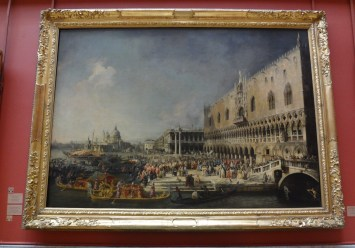 Reception of the French Ambassador in Venice by Canaletto